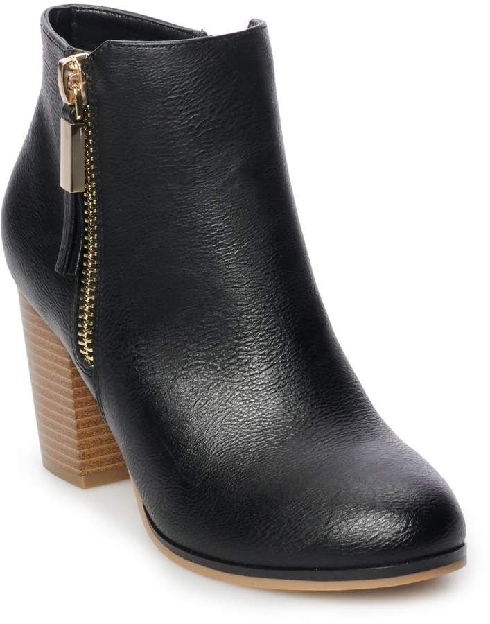 57893458e611 Apt. 9 Timezone Women s High Heel Ankle Boots in 2019