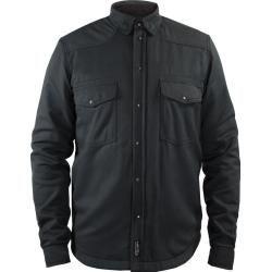 Photo of John Doe Lumberjack Basic Motorcycle Shirt Black Gray 2xl John Doe
