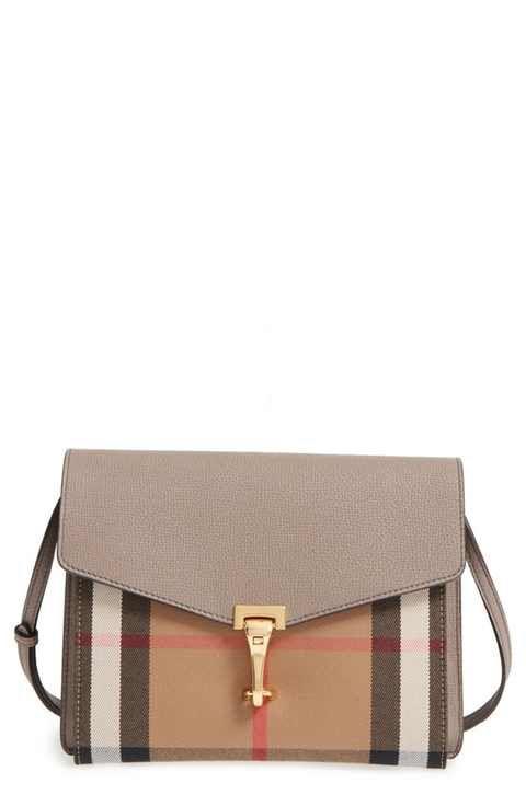 1b5b423ec11c Burberry  Small Macken  House Check Crossbody Bag