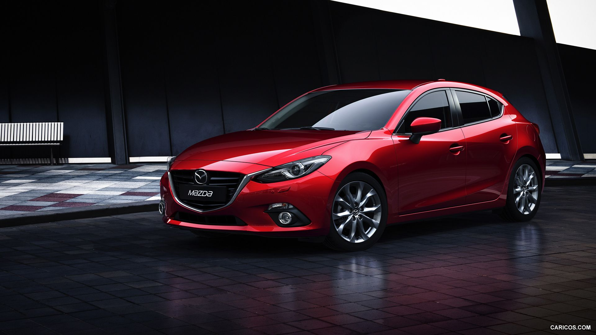 Mazda 3 2014 Red Hatchback // Mazda cars, Hatchback cars