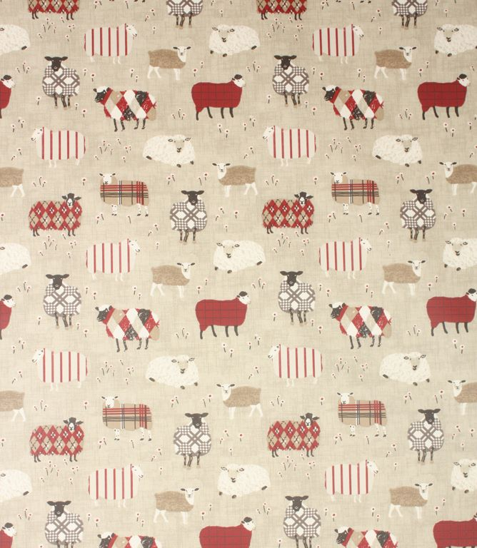 Contemporary Sheep PVC Fabric In A Range Of Fun Colours