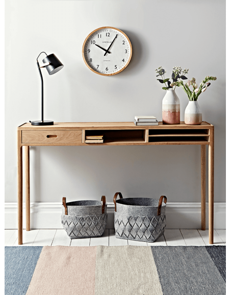 Console Table With Storage Small
