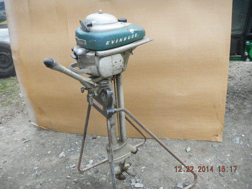 Long Shaft Outboard Motors : Vintage evinrude zephyr outboard motor long shaft quot