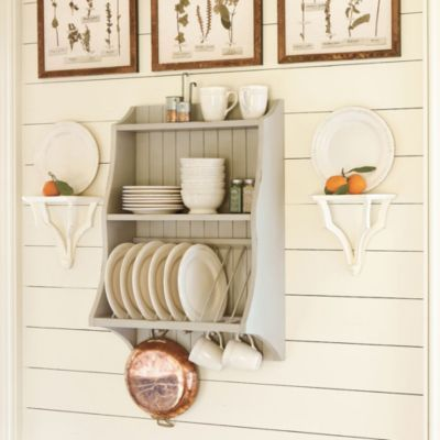 Sk Hanging Plate Rack European Inspired Home Decor Ballard Designs Kitchen Decor Hanging Plates Plate Racks