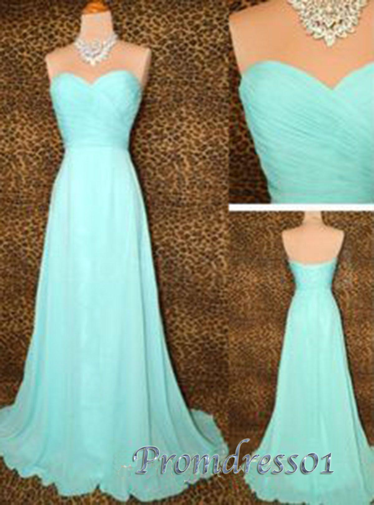Prom dress elegant mint green sweetheart strapless long prom