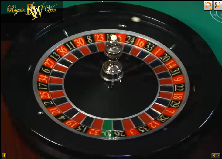 Pick your numbers playing live roulette bar master