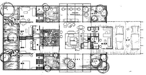 Case Study House #24 from Arts & Architecture Magazine -- Never ...