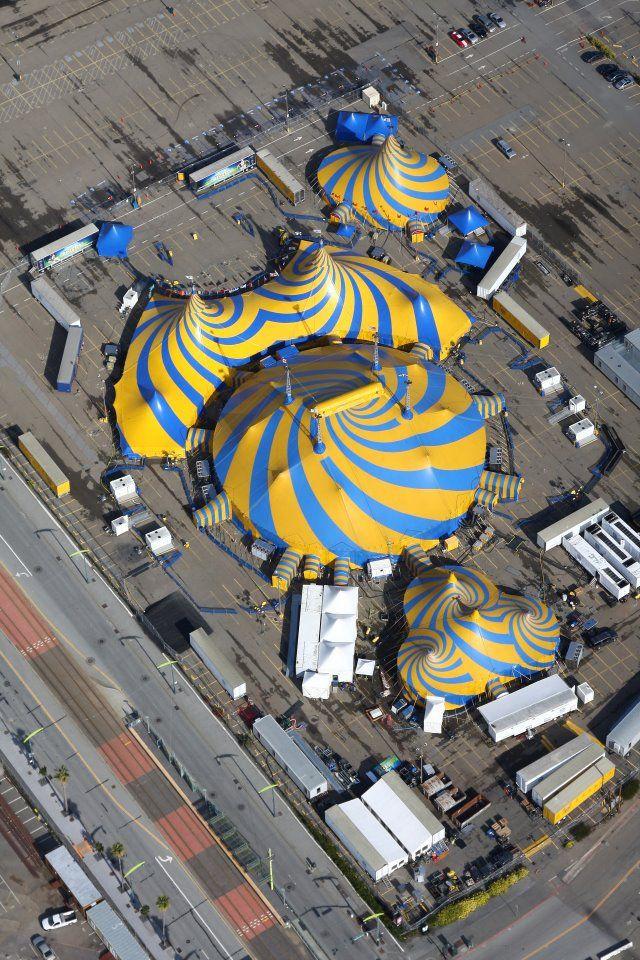 Cirque du Soleil, carpa.