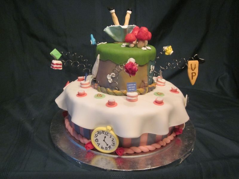 Alice And Wonderland Baby Nursery Was For My Stepdaughters Baby