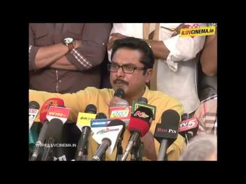Sarath Kumar Press Meet - http://www.iluvcinema.in/tamil/sarath-kumar-press-meet/