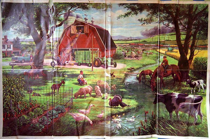 1962 Farm Picture Childcraft Encyclopedia Google Search Farm