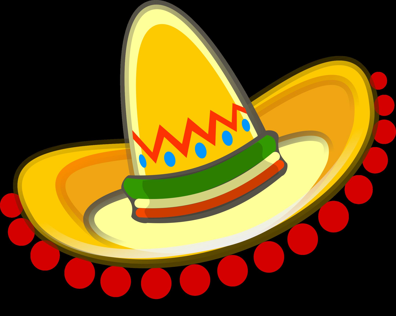 Clipart sombrero Mexican hat, Free clip art, Mexican