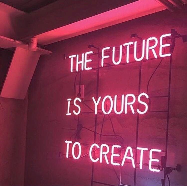 K I T S C H Y On Instagram Words To Live By Via Pinterest Kitsch Kitschy Vintage In 2020 Neon Quotes Neon Signs Neon Signs Quotes