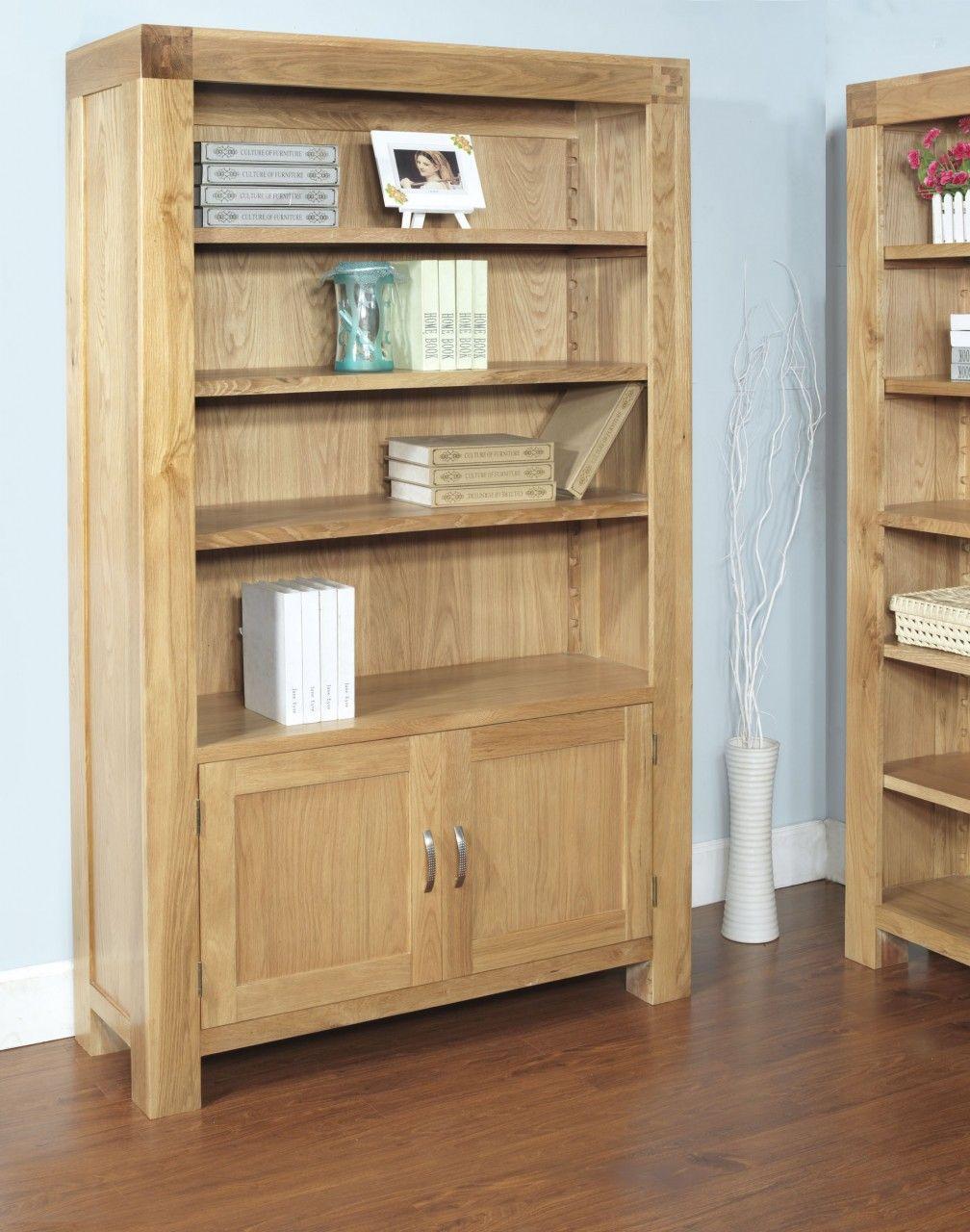 Eiche Massiv Bucherregal Und Seine Schonen Design Ideen Holz
