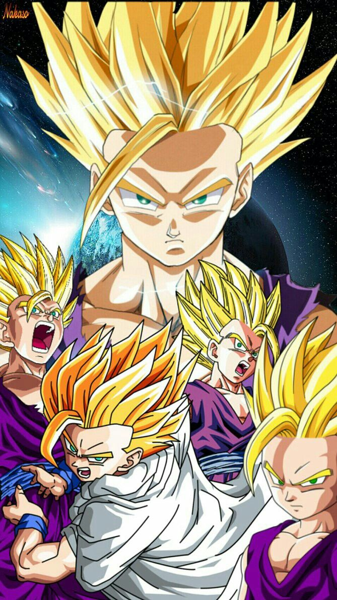 Ultimate Gohan Phone Wallpaper