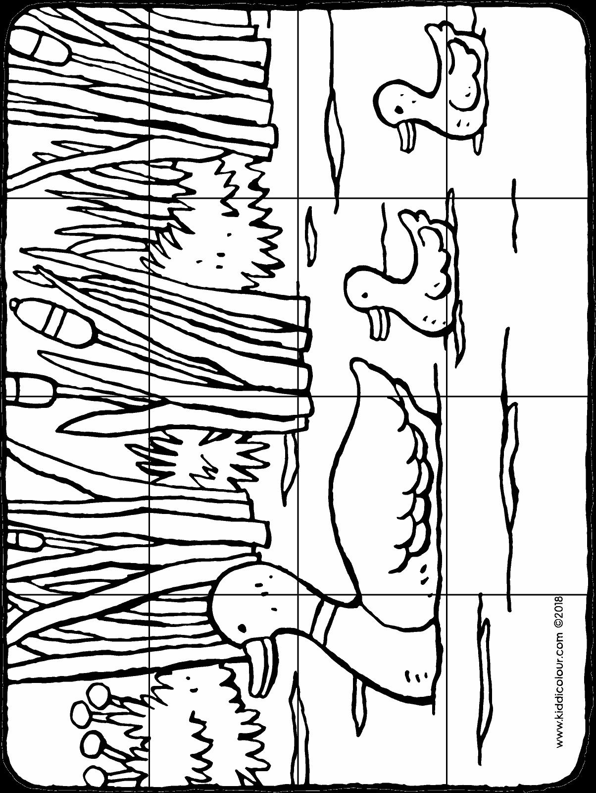 Einzigartig Ausmalbilder Puzzle Farbung Malvorlagen Malvorlagenfurkinder Bilder Zum Ausdrucken Enten Bilder Ausmalbilder