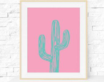 Photo of Cactus Print, Cactus Plant Garden Art Print, Cactus Printable, INSTANT DOWNLOAD, Home Decor, Printable Cactus Art, Printable Wall Art