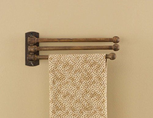 Park Designs 3 Prong Wood Towel Rack Check Out The Image
