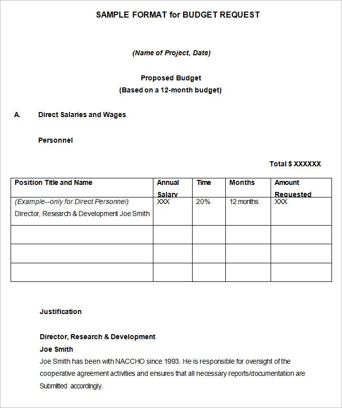 Marketing Budget Proposal Templates Marketing Budget Template