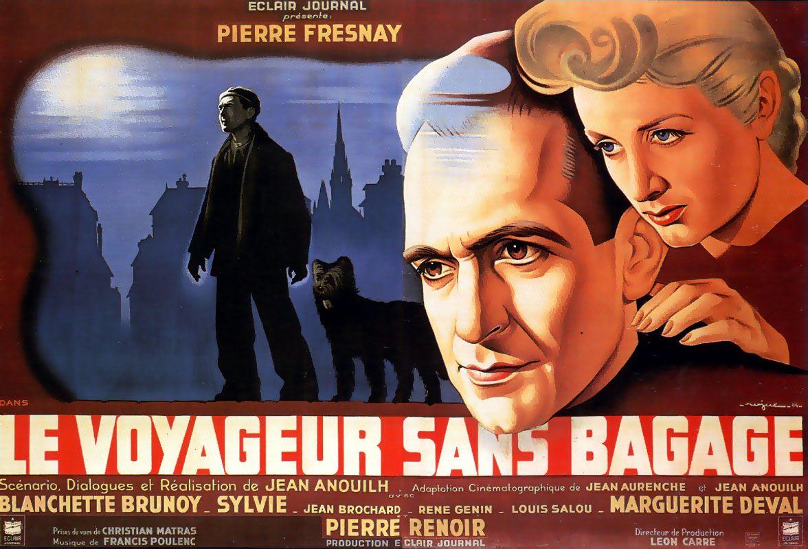 Le Voyageur Sans Bagage En 2020 Cinema Francais Francis Poulenc Film Francais