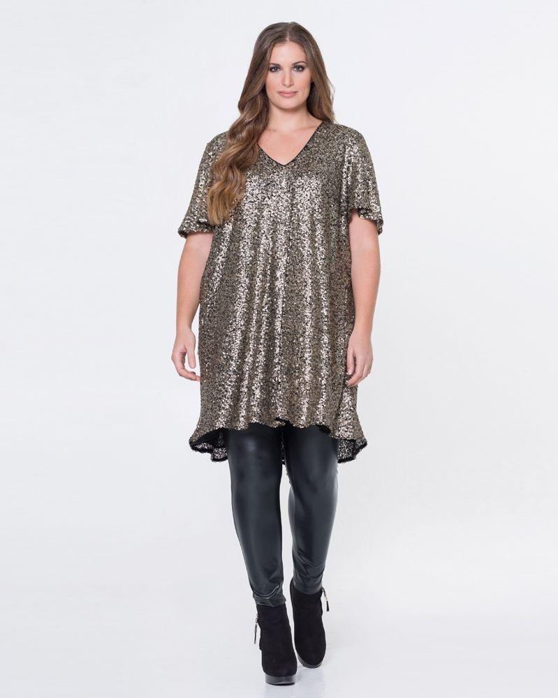 42ebfa3b4e68 Φόρεμα με παγιέτες — mat. XXL sizes — Γυναικεία Ρούχα