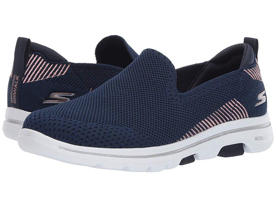 Skechers Performance Go Walk 5 Prized Women S Shoes Navy