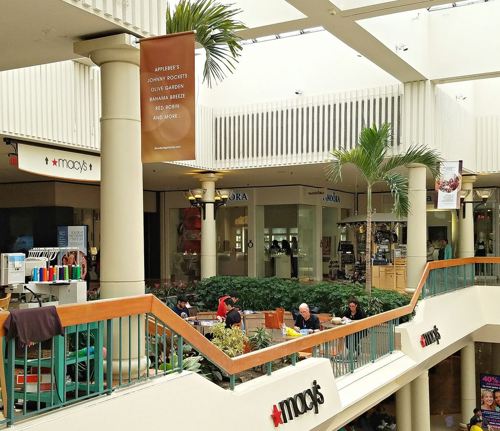 Eating Pit Balcony at Woodbridge Center | Pinterest | Lush garden