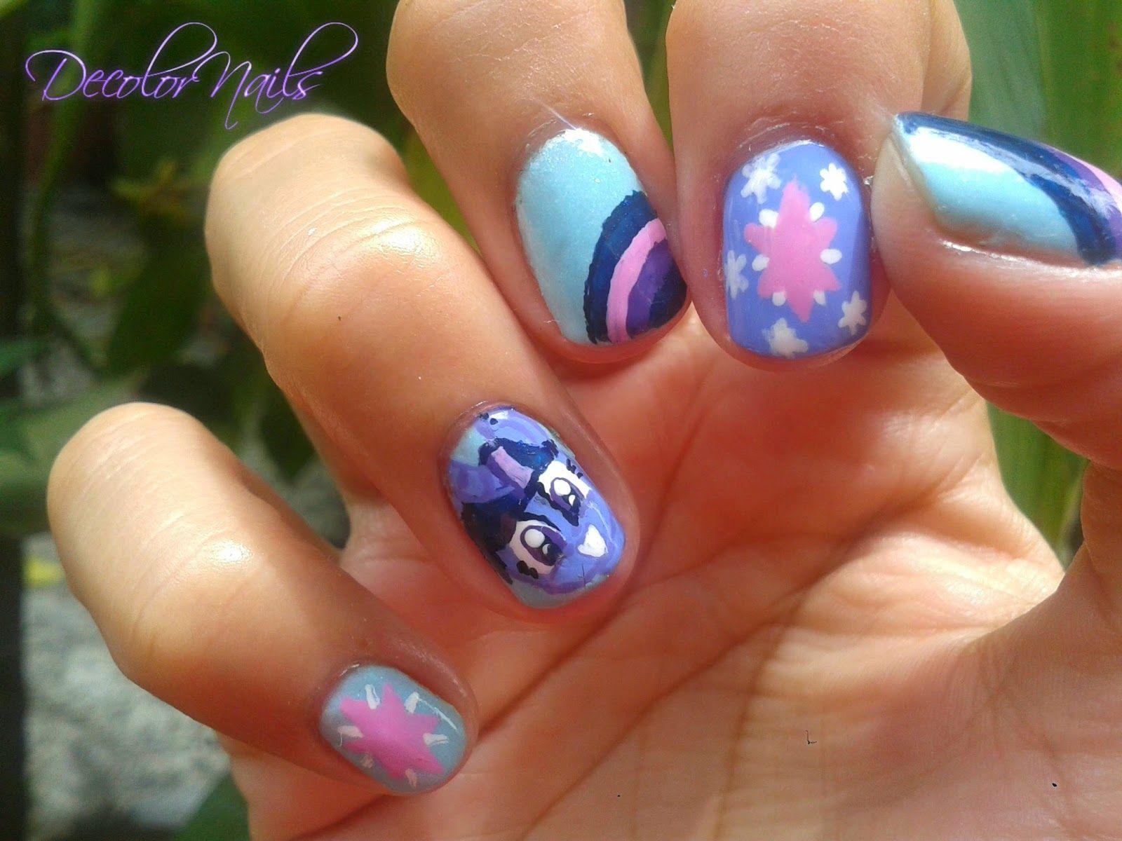 My Little Pony Nail Art   nails xx   Pinterest   Arte de uñas y Arte