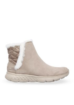 Skechers Taupe Cozies On The Go 400 Boot