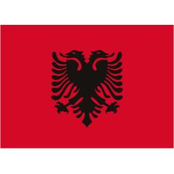 Bandeira da Albânia