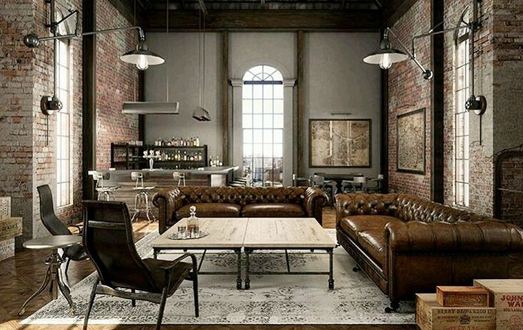 Industrial Style Furniture Kathy Kuo Home Family room