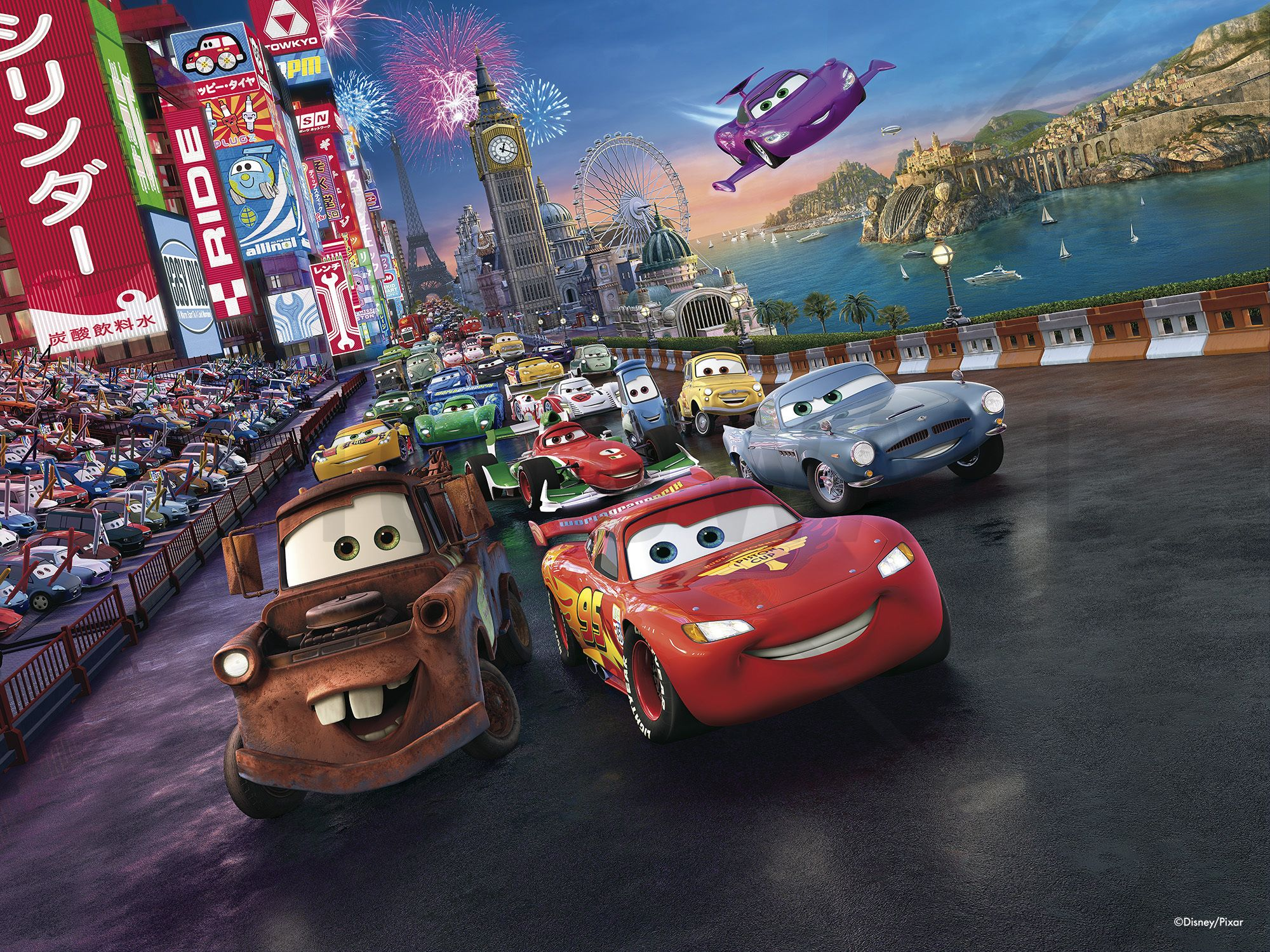 Disney Cars Wall Murals & Wallpapers Photowall.co.uk