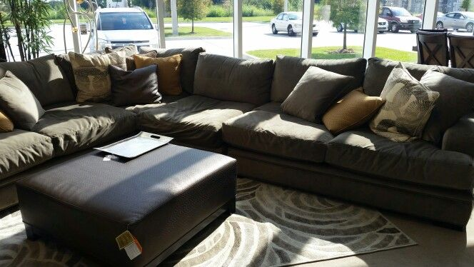 Cindy Crawford Home Fontaine 4 Pc Sectional Rooms To Go Sofa