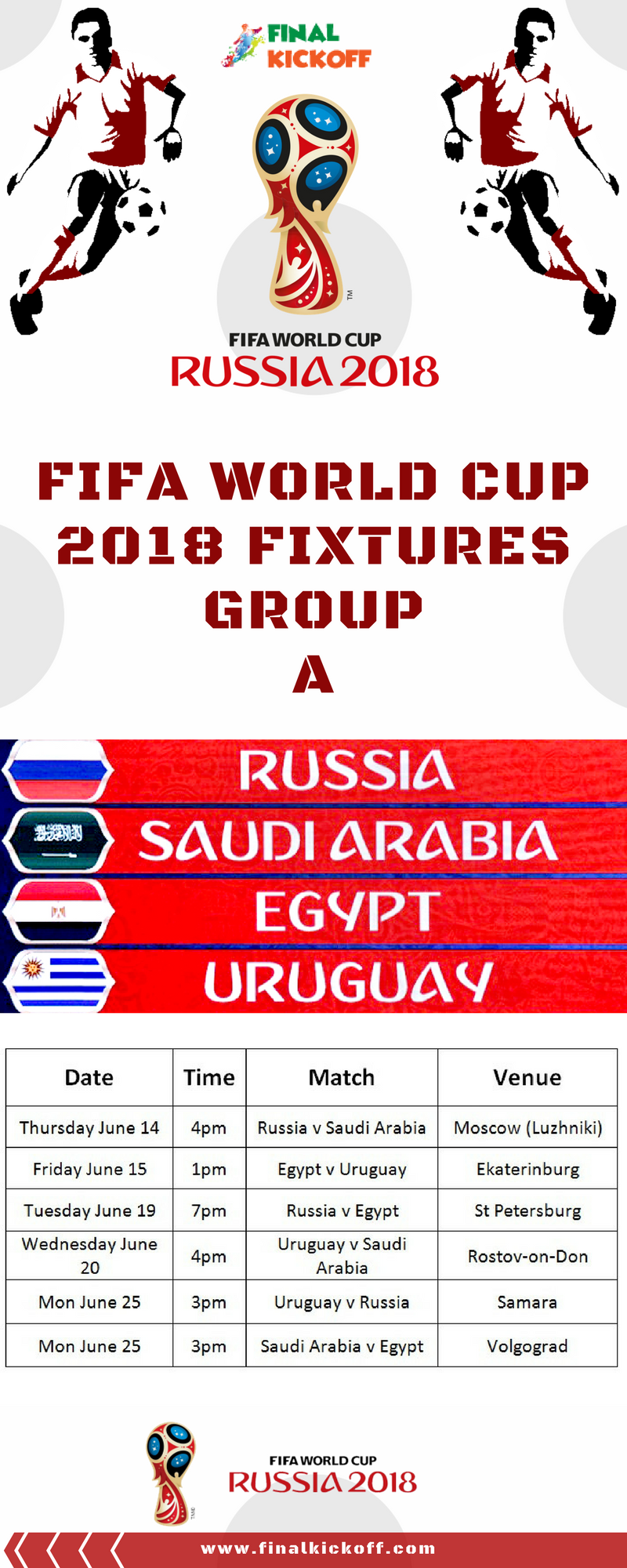 Fifa World Cup 2018 Match Schedule With Images World Cup Match World Cup Soccer World Cup 2018