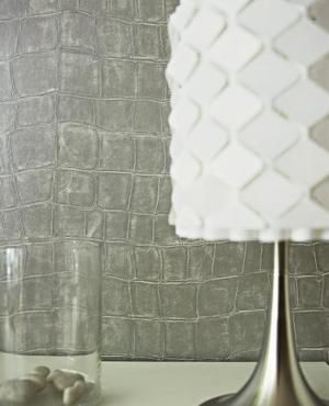 faux leather crocodile skin vinyl wallpaper walls