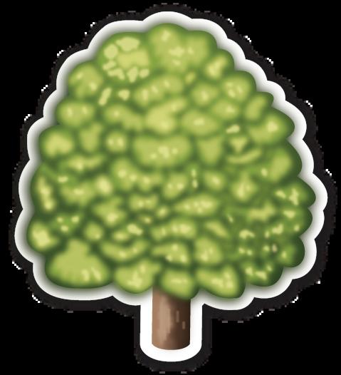 Deciduous Tree | Emojis | Tree emoji, Emoji, Deciduous trees