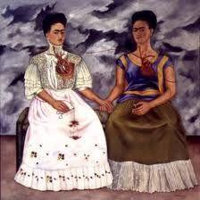 Las dos Fridas, Frida Kalho
