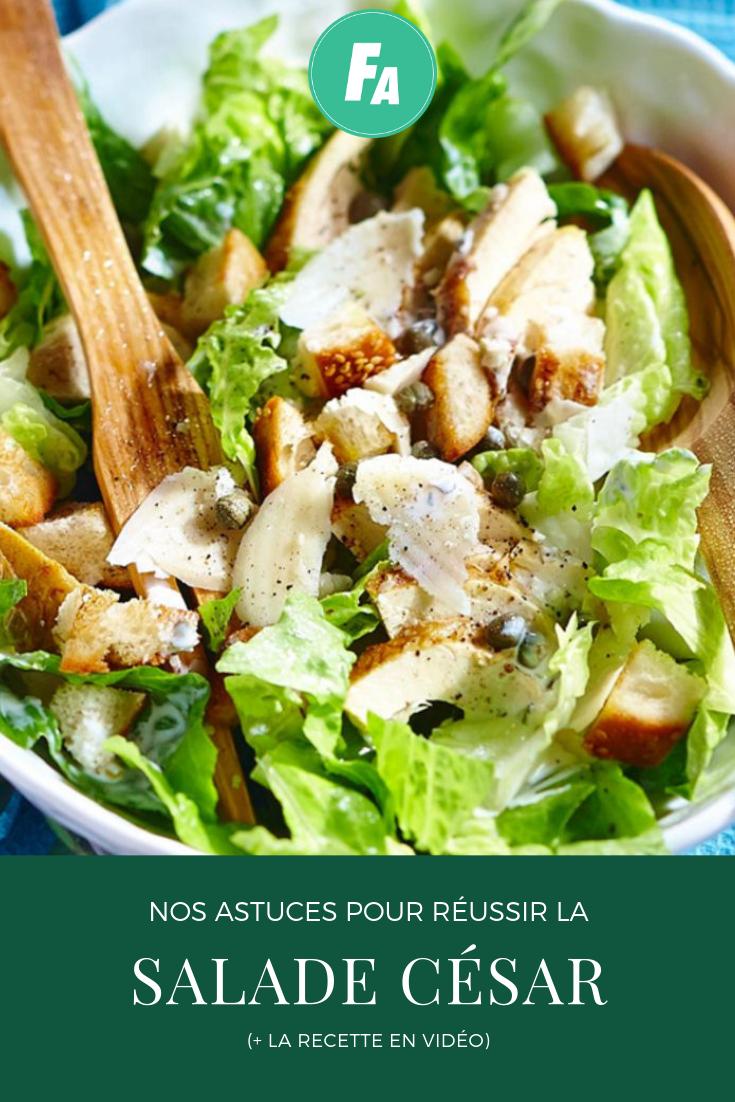 nos astuces pour r u00e9ussir la salade c u00e9sar