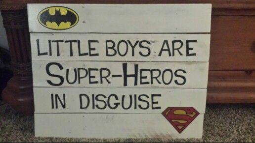 Super hero nursery item
