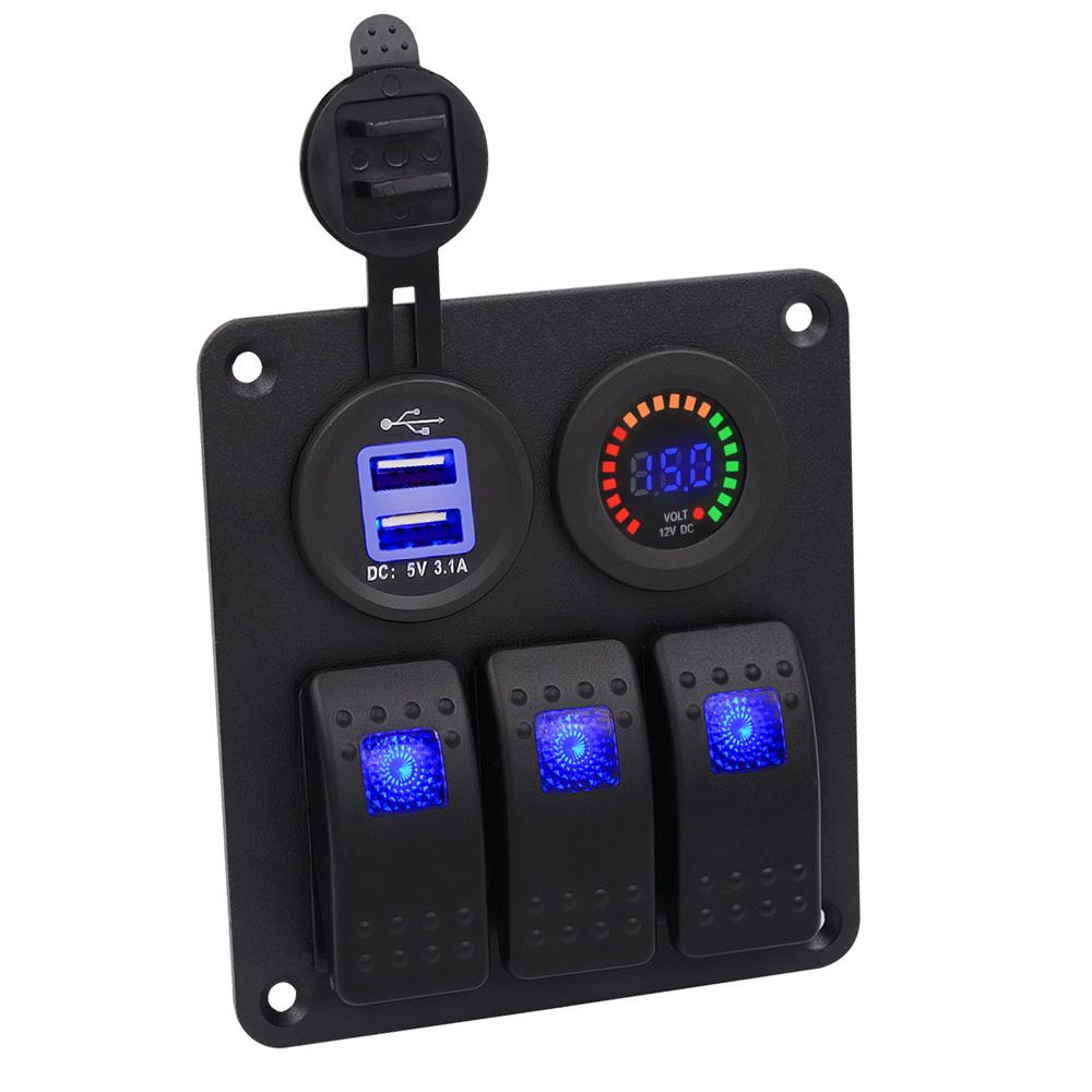 Image Result For 12 Volt Dc Switch Panel Waterproof Car Rv Stuff Electronic Products