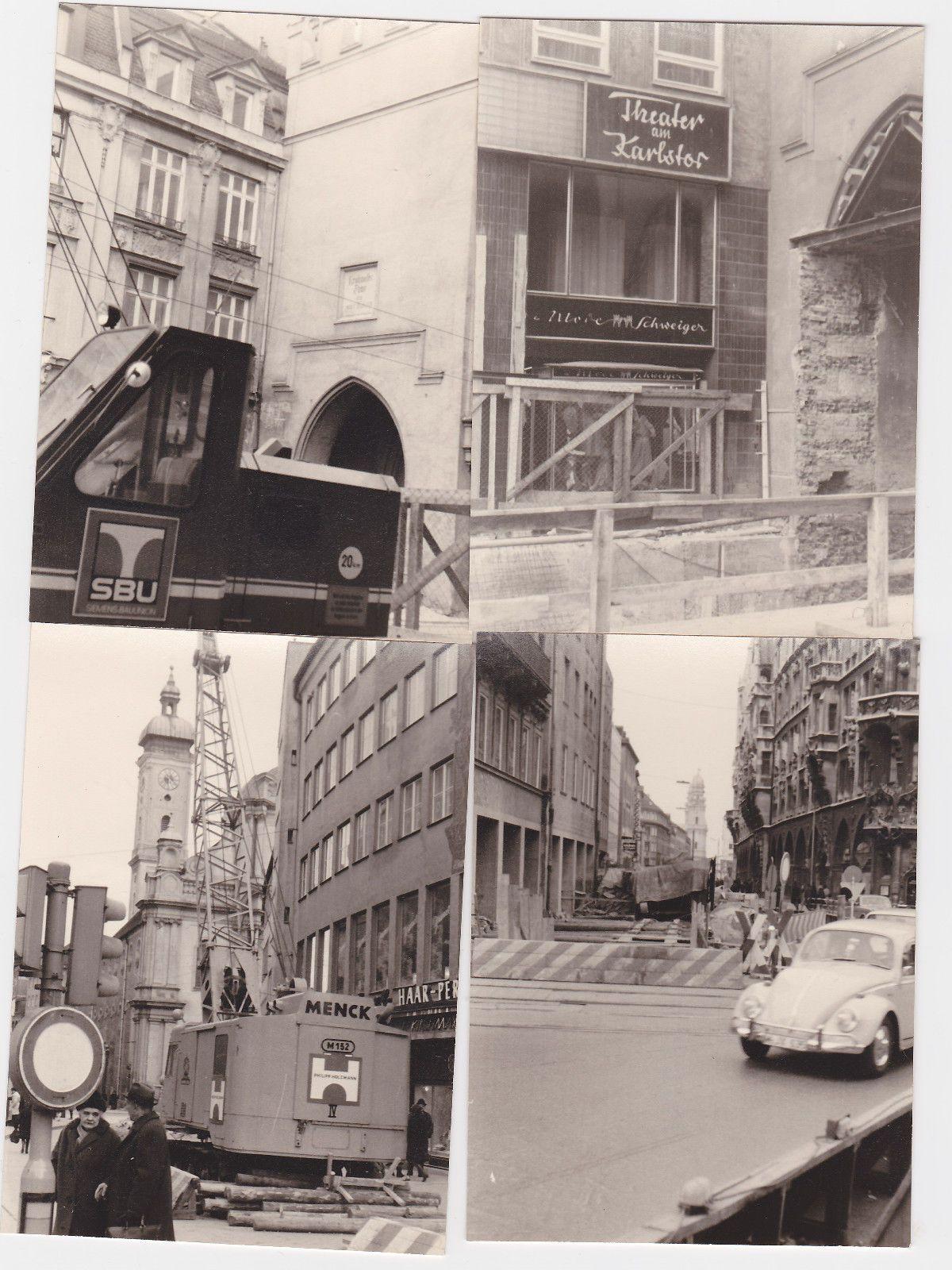 1969 Stadtumbau München in Vorbereitung auf die Olympiade 1972