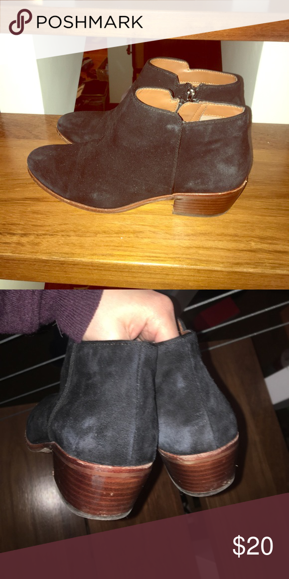 0c91bcacc Sam Edelman Petty boot Black suede. Size 7. Slight wear and tear. Sam  Edelman Shoes Ankle Boots   Booties