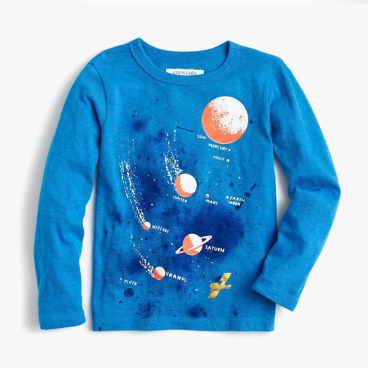 Planet Uranus Kids Sweatshirt