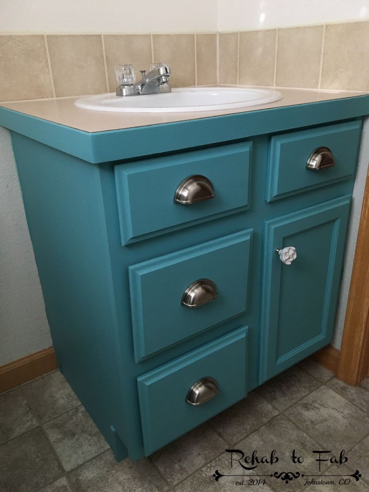 transformed my cabinet in a few hours in 2019 diy bathroom rh pinterest co uk