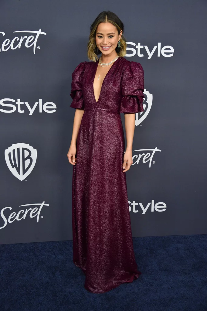 Jamie Chung at the Golden Globes 2020