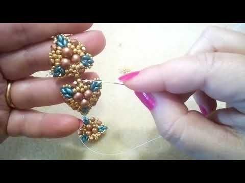 Tutorial Orecchini Selce 51 Youtube Beaded Jewelry Tutorials Beaded Bracelets Tutorial Jewelry Tutorials Free