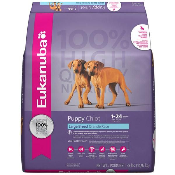 Mfr 80221625 Net Weight 33 Lb Fos Works In Your Puppy S Digestive Tract To Support His Strong Natural Large Breed Puppy Food Purina Puppy Chow Puppy Food