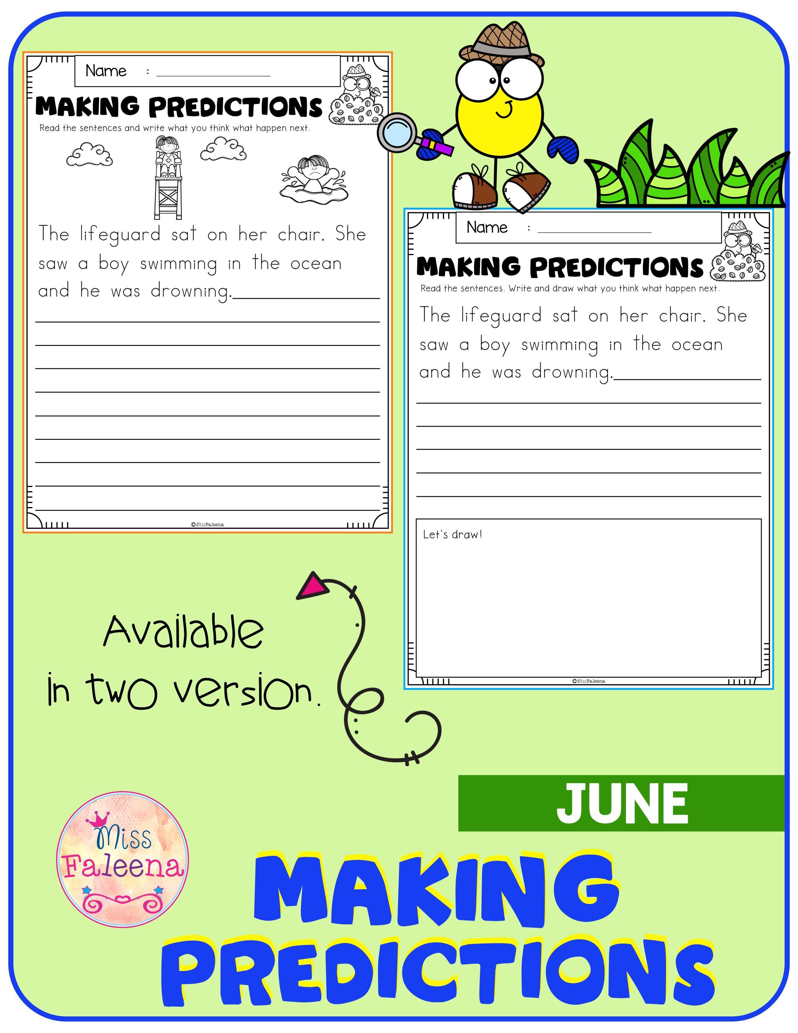 June Making Predictions Di