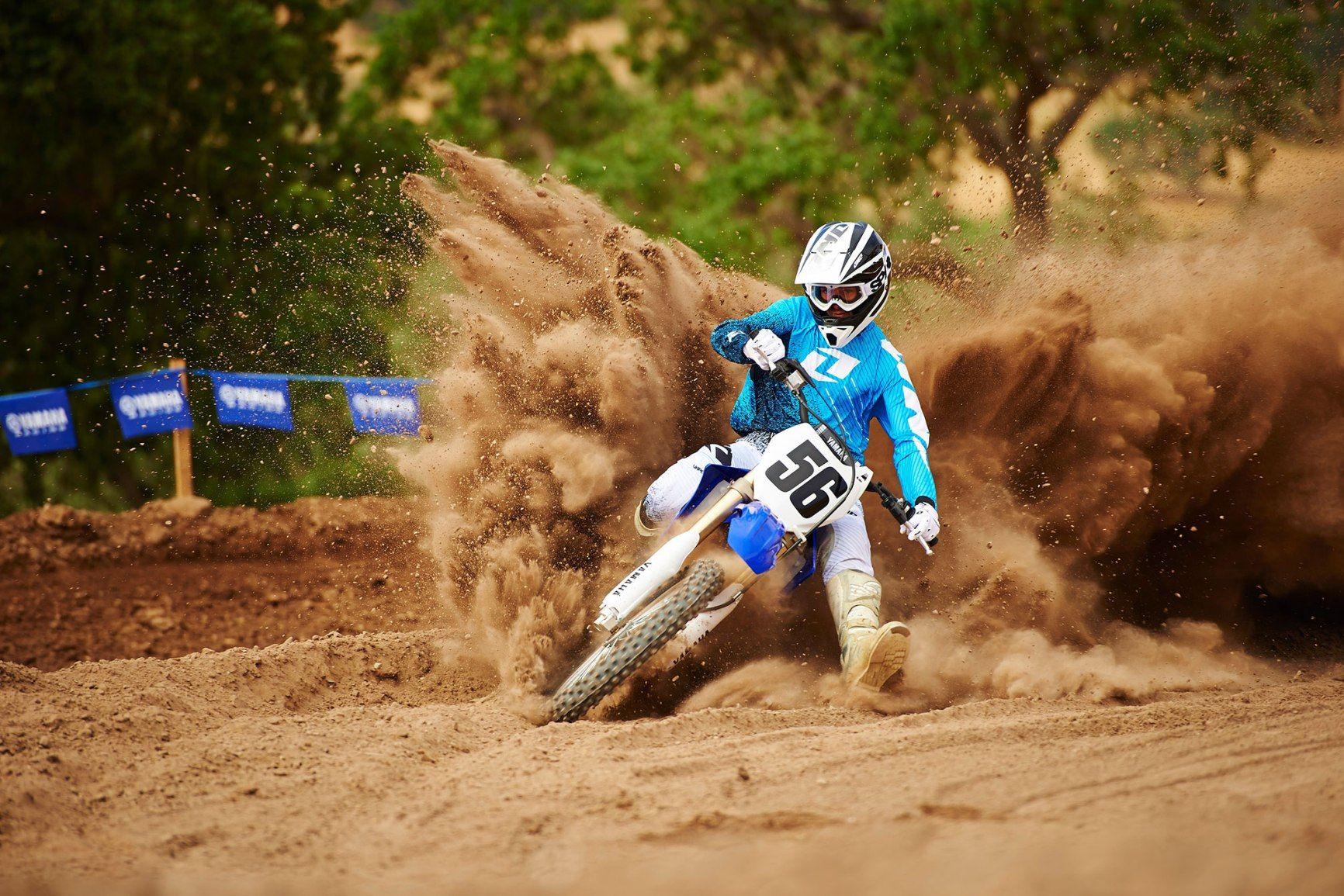 Yamaha DirtBike Race Wallpaper