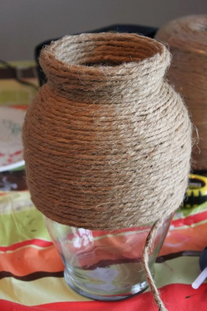 Recycled rope crafts is fun, simple as knots tying to create flower vase or lampshades for instance. And for a simple weaving techniques t...